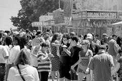 Junk Food Festival (DJ Wolfman) Tags: muskegon street blackandwhite bw people streetphotography streetphoto streetscene michigan artfestival sony a7markii
