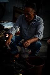 DSCF9570 (lukmanism) Tags: fujifilm helios442 lensturbo2 kualaklawang negerisembilan malaysia streetphotoghraphy silhouette vintagelens pasartani market sunrise muziumadat