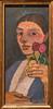 Paula Modersohn-Becker, Self-Portrait with Two Flowers in Her Raised Left Hand, 1907 1/13/18 #moma (Sharon Mollerus) Tags: museumofmodernart newyork unitedstates us cfptg18