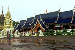 "Wat Den Sa-Ree Sri Muang Gaen. (ol'pete) Tags: watdensareesrimuanggaenวัดเด่นสะหรีศรีเมืองแกน buddhist พุทธกาลนิชน chiangmai เชียงใหม่ ""maetaeng"" แม่แตง thailand ประเทศไทย เมืองไทย temple wat วัด architecture lannatradition canon ""powershot"" ""sx260hs"" earthasia"