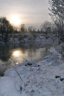 Dawn over the river / Рассвет над Десной