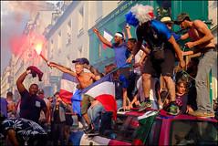 France World Cup Celebration in Paris (PatCallahanPhotos) Tags: france paris2018 street worldcup photofocus lensculture colorfulphoto 11tharrondissement
