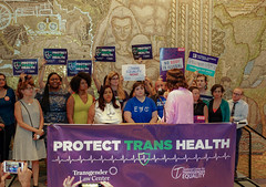 2018.07.17 #ProtectTransHealth Rally, Washington, DC USA 04779
