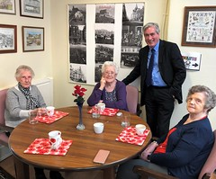 Visiting Harlawhill Day Centre