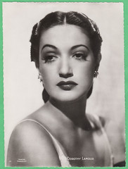 Dorothy Lamour (Truus, Bob & Jan too!) Tags: dorothylamour dorothy lamour american actress singer hollywood moviestar movie movies film cinema cine kino picture screen vintage collectors card premium paramount clovis