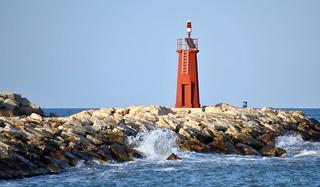 Leuchtturm in Dénia * Lighthouse in Dénia * Faro en Dénia * Spanien/Spain/España *  . DSC_1270-1