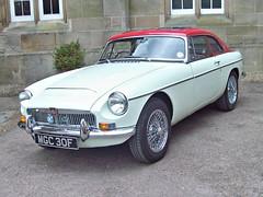 160 MG MGC Hardtop (1968) (robertknight16) Tags: mg british 1960s mgc sportscar bl bmc oulton mgc30f