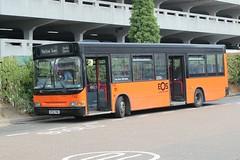 Possibly my last EOS Bus . (AndrewHA's) Tags: essex harlow eos buses swallo coaches rainham bus dennis dart alexander pointer 742 kp02pwv