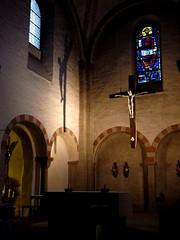 Paderborn - St. Ulrich (Martin M. Miles) Tags: paderborn stulrich gaukirche apse cross crucifix nordrheinwestfalen nrw northrhinewestphalia deutschland germany