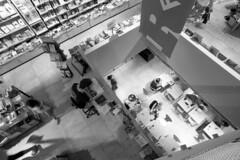 Bookstore - Florence - June 2018 (cava961) Tags: florence analogue analogico monocromo monochrome bianconero bw 6x6