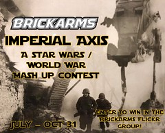 Announcing the Imperial Axis Contest - sponsored by BrickArms! (enigmabadger) Tags: brickarms lego custom minifig minifigure fig weapon weapons accessory accessories combat war star wars scifi science fiction fantastic