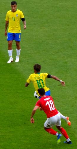 Neymar takes off