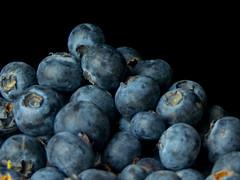 Blueberries (Andy Sut) Tags: fruit stilllife food raw dessert macro studio kitchen justfruitseries blueberries andysutton edible eating dining lumix bridgecamera amateur homestudio studiolighting still