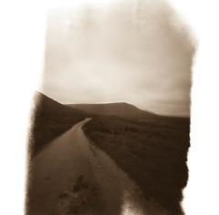 Mountain Road (Christopher M Hight) Tags: zero 2000 pinhole ilford panf50 120 film breconbeacons lightleaks