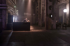 Silence - only the rhythm of the small machines (Markus Lehr) Tags: concrete hall barman pipes inside industrial architecture urbanspace urban longexposure langzeitbelichtung light mood atmosphere contemporaryphotography berlin germany markuslehr