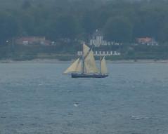 Former British sailing trawler Gratitude at 5.30 AM in Öresund (frankmh) Tags: ship tallship gaffketch sailtrainingship svenskakryssarklubben öresund earlymorning