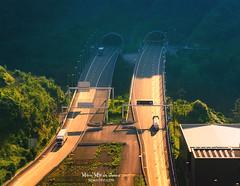 SuperSur, Bilbao (Mimadeo) Tags: infrastructure tunnel road transportation transport highway traffic travel freeway speed car vehicle landscape background asphalt modern truck bilbao supersur