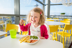 AFS-2017-03445 (Alex Segre) Tags: interior interiors inside young small child eating out children kid kids childrensmenu meal meals chips ikea restaurant restaurants girl girls female females happy smiling smile smiles uk england britain english british europe european in a alexsegre