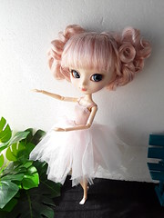 Ballerina (Lunalila1) Tags: doll groove pullip alice dujardin handmade tutu ballet ballerina bailarina dance outfit 16 scale