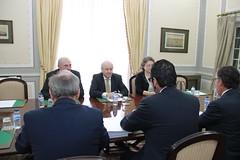 Rui Rio em reunião com a plataforma Missão Crescimento
