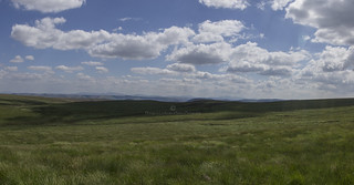 Brecon Beacons Panorama from Drygarn Fawr