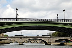 Pont Notre-Dame et Pont au Change (just.Luc) Tags: bridges bridge brug bruggen pont ponts seine river fluss rivier fleuve rivière parijs parigi paris îledefrance france frankrijk frankreich francia frança europe europa