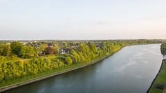 Sunset at Kiel Canal (HansPermana) Tags: landscape landschaft schleswigholstein deutschland norddeutschland fahrradtour fahrradfahren fahrrad kielcanal canal water