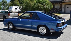 1986 Dodge Shelby Charger (Custom_Cab) Tags: 1986 dodge shelby charger turbo blue car shelbycharger chargershelby