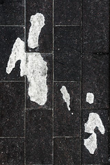 Sometimes Looking At A Reflection I Wonder If This Really Is All We Are (pni) Tags: pedestrianspaintedonpavement sign pavement ground figure people helsinki helsingfors finland suomi pekkanikrus skrubu pni