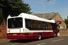 Soo Shiny! (SRB Photography Edinburgh) Tags: lothian buses bus reburbishment edinburgh thortons volvo 7900 hybrid road transport