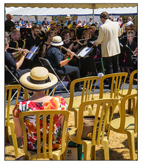 The concert band (Photography And All That) Tags: concert band nottingham nottinghamconcertband patchings patchingsfarm festival festivals foto art summer sunny sunshine audience conductor music musician musicians play playing players instruments brass wind hat tent awning sonyalpha7mark3 sony sonyilce7m3 sonyalpha ilce7m3 people men women chairs