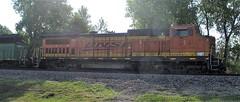 BNSF 543, Rolla (Mo.), 13 July 2018 (milanite) Tags: bnsf bnsfrailway locomotives trains geb408w rollamo phelpscountymo missouri