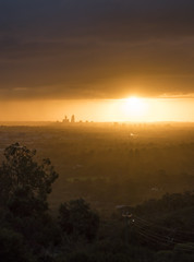 Winter Fire (SteveKPhotography) Tags: stevekphotography sony alpha a99ii ilca99m2 sal70400g2 scenery scenic sunset weather sky skyline city cityscape outdoors light clouds sun westernaustralia