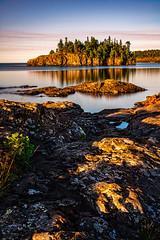 Ellingson Island (scot.howe) Tags: 10stop morning northshore minnesota lakesuperior splitrockstatepark ellingsonisland