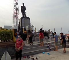 Thailand-Pattaya 20180126_094437 DSCN1810 (CanadaGood) Tags: asia seasia asean thailand thai ราชอาณาจักรไทย chonburi pattaya military navy statue monument people person canadagood 2018 thisdecade color colour