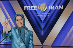 Maryam Rajavi, At the Resistance's Grand Gathering in Paris , June 30, 2018 (maryamrajavi) Tags: regime overthrow certain iran free maryam rajavi paris resistance people victory grand gathering مریم رجوی ایران آزادی ویلپنت گردهمایی رژیم سرنگونی مسعود