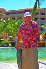 Manny Around the Pool (Kirt Edblom) Tags: loreto loretomexico mexico islandsofloreto villadelpalmar vacation vdp resort seaofcortez spa wife gaylene milf loriford aroundthepool bcs baja bajacaliforniasur pool swim swimming swimmingpool friends