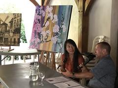 Itinéraire d'une artiste : Jie Hipken Zhong
