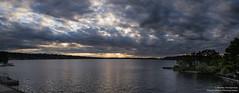 Cloud Drama Pano (BobbyFerkovich) Tags: pano panorama lake washington bristol clouds sony sonya7riii