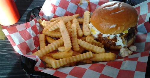Carolina Burger at Rustic Burger