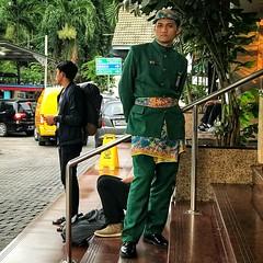 Jakarta (-Faisal Aljunied - !!) Tags: jakarta securityguard eyecontact faisalaljunied