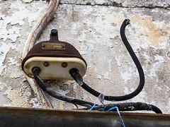 Old electrical - 2 (MarksPhotoTravels) Tags: greenvillecounty southcarolina southernbleacheryandprintworks taylors taylorsmill unitedstates