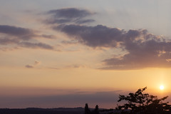 (Girl With Butterfly Wings) Tags: clouds evening summer summertime