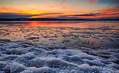 Winter afternoon, Norway (Vest der ute) Tags: xt2 norway akershus sea sky clouds ice snow winter sunset fjord afternoon fav25 fav200