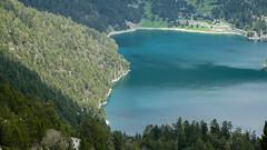 Lac d'Orédon (RIch-ART In PIXELS) Tags: hautespyrénées pyrénées lac lake water forest landscape mountains montagne slopes aragnouet occitanie france lacdorédon fujifilmxt20 xt20