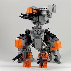 M30 II Medium Mech (Marco Marozzi) Tags: lego legomech legodesign legomecha marozzi marco moc mecha mech robot walker bricks