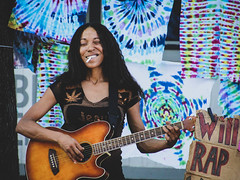 Will Rap (creteBee) Tags: yvette gbalazeh performs street rap corner deep ellum controversial will 4 weed lady for marijuana legalization dallas fight