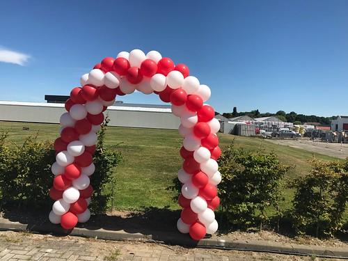 Ballonboog 5m Personeelsfeest Koninklijke Brinkman 's Gravenzande