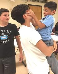a Evan pick up kid