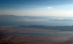 Salt Lake Pastels (zeesstof) Tags: zeesstof aerial aerialview viewfromwindow windowseat flight commercialflight saltlakecitytohouston united unitedairlines utah smithfield unitedstates usa